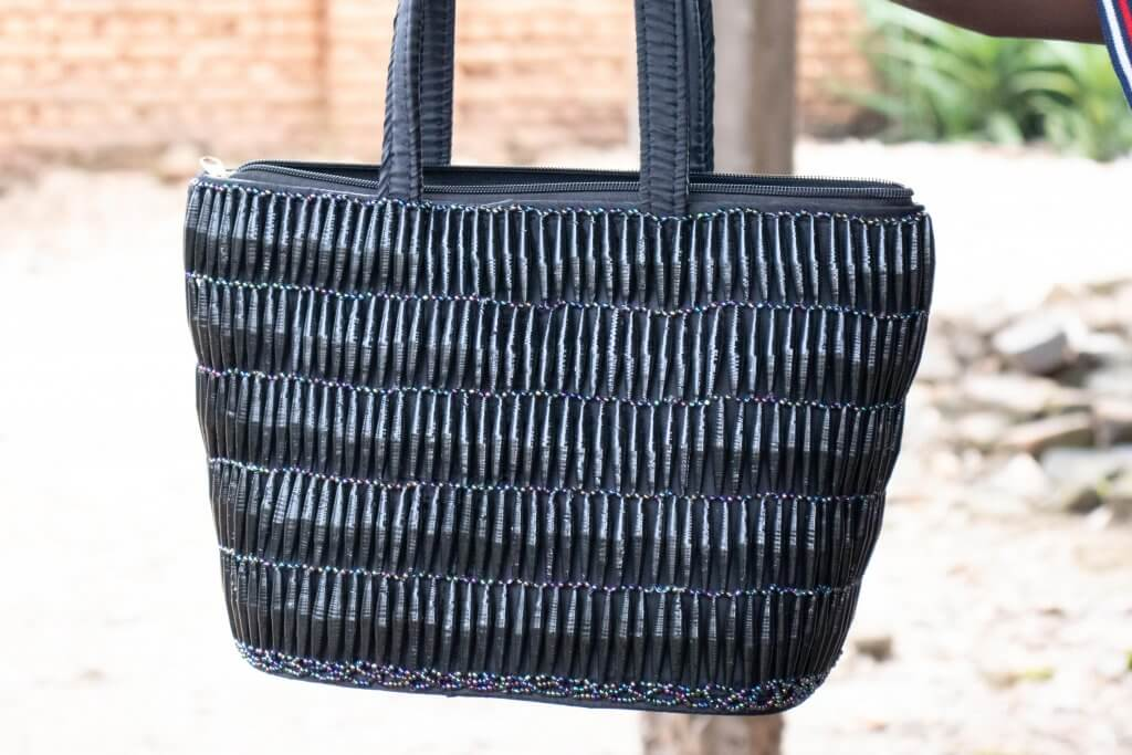Handcrafted bag made by JAMA, a KinoSol partner