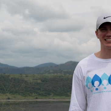 Josh, a 2019 trip participant