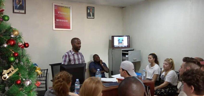 Steven Mutebi and microfinance